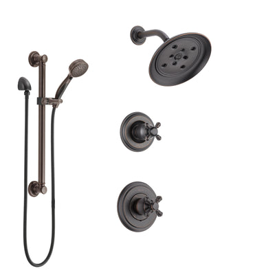 Shower Systems with Showerhead and Hand Shower Sprayer