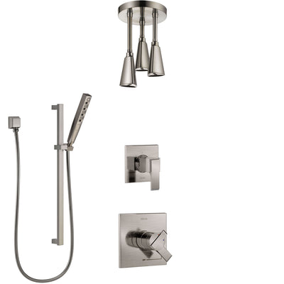 All 3-Setting Diverter Shower Systems with 2 Spray Outlet Groups