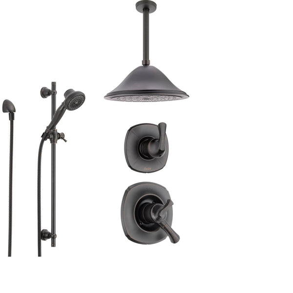 Delta Addison Venetian Bronze Shower System With Dual