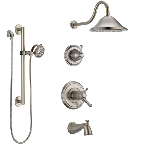 Delta Cassidy Stainless Steel Finish Dual Thermostatic