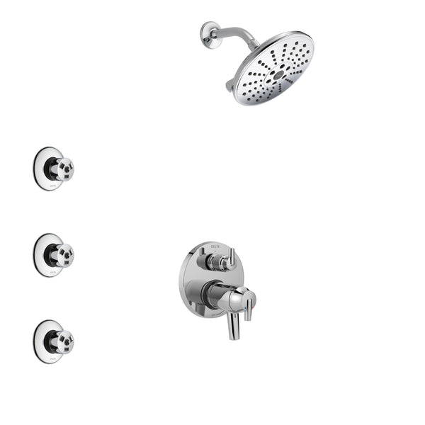 Delta Trinsic Chrome Finish Shower System with Dual
