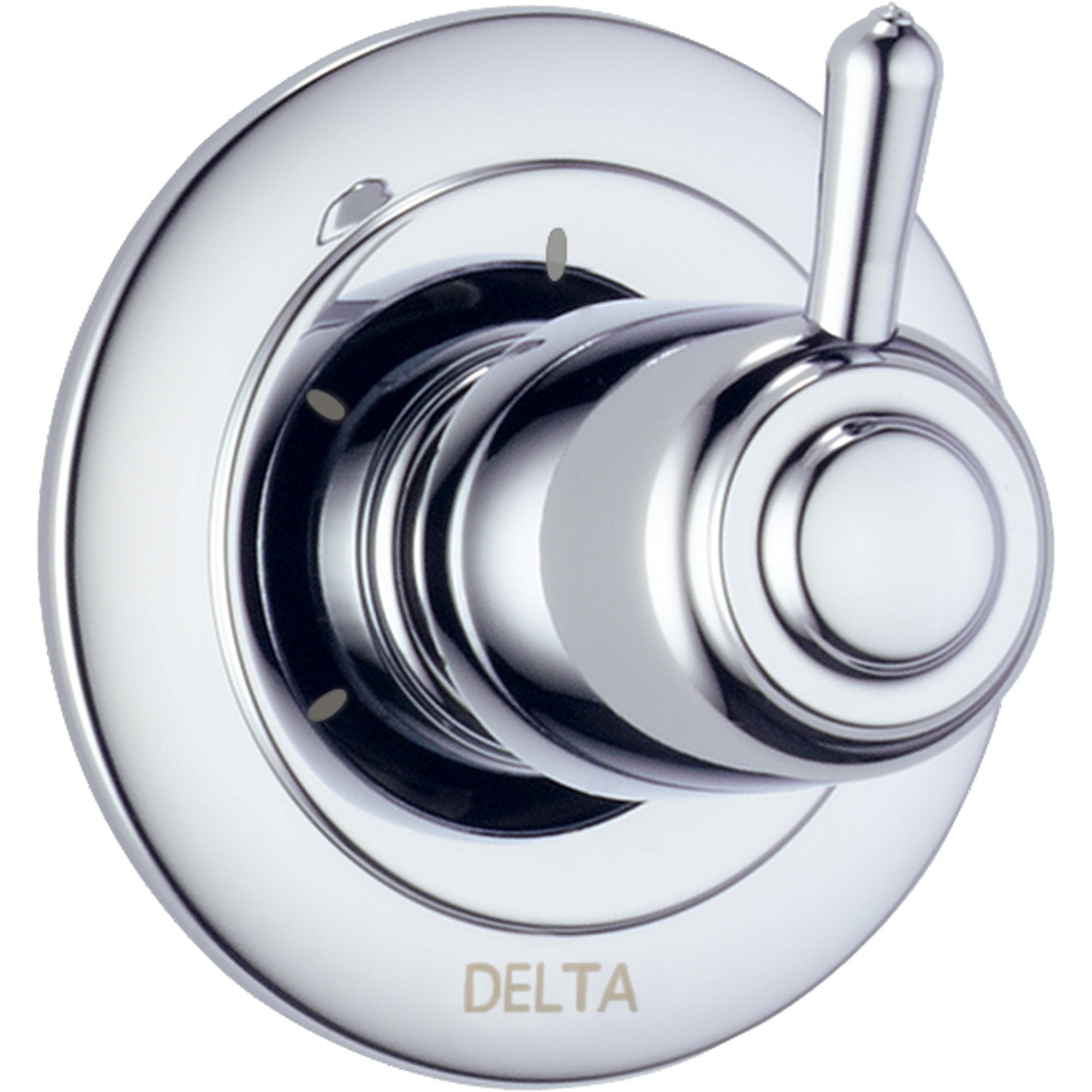 Delta 3-Setting Chrome Shower Diverter Single Handle Trim Kit 560966