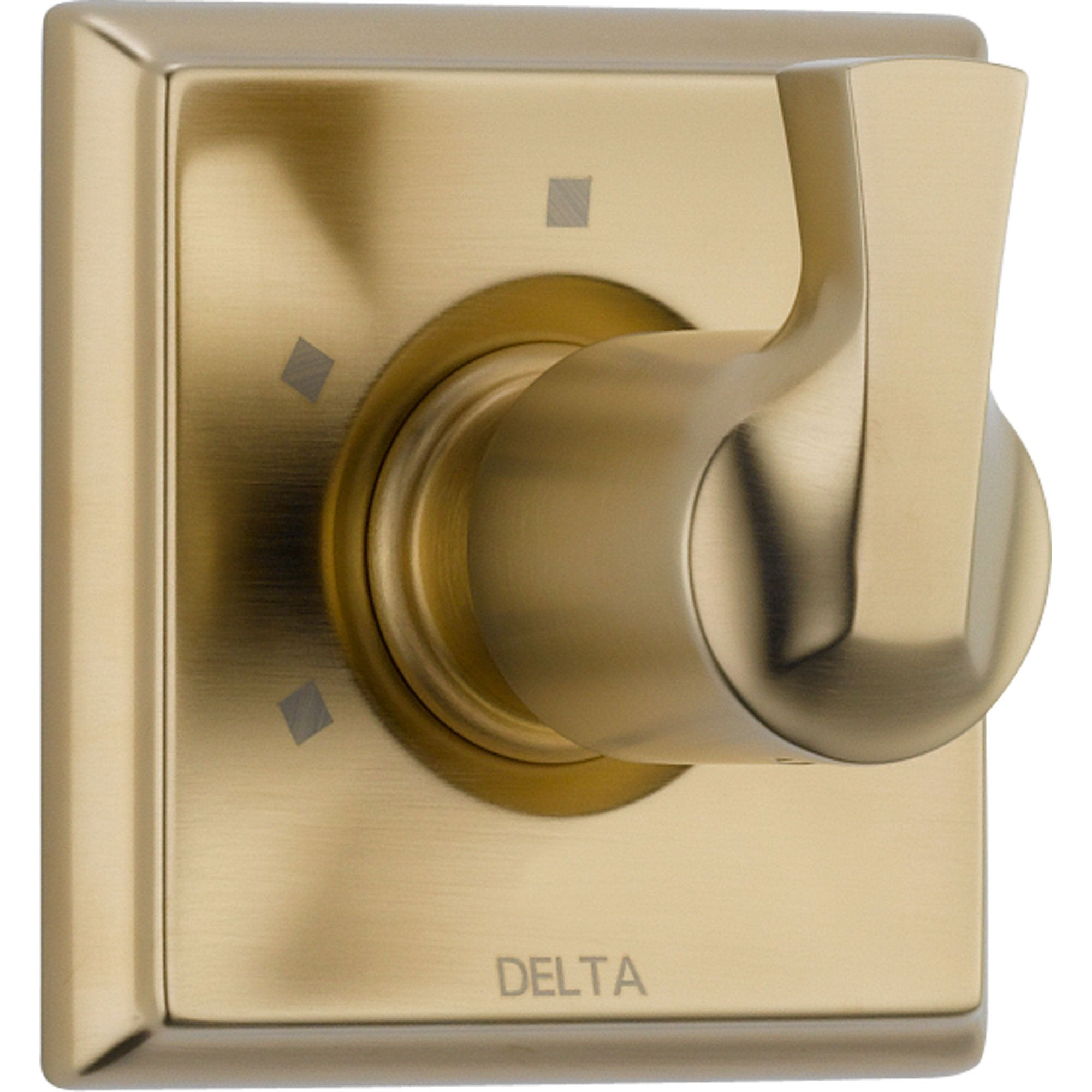 Delta 3-Setting Champagne Bronze Shower Diverter Single Handle Trim Kit 555991