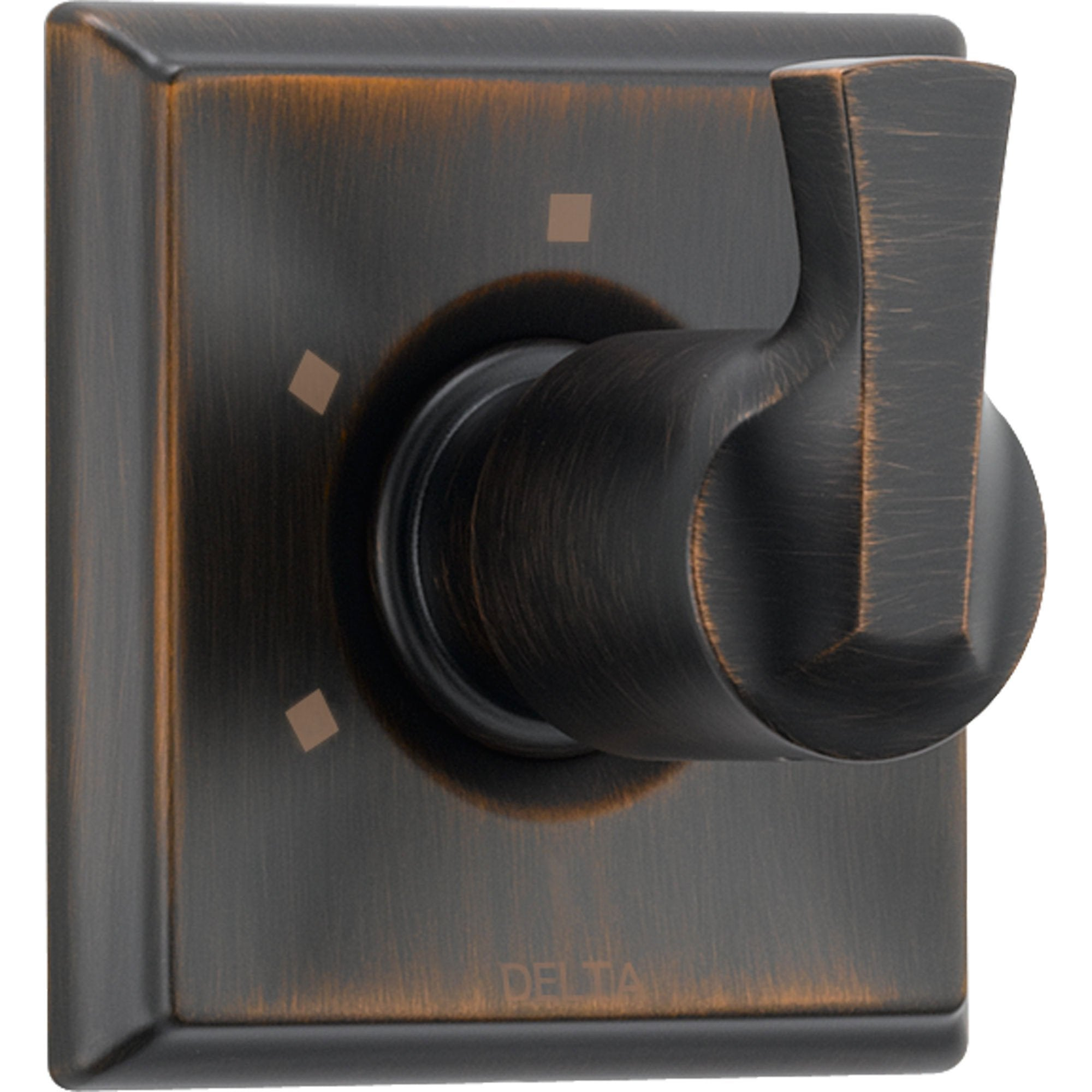 Delta 3-Setting Venetian Bronze Single Handle Shower Diverter with Valve D181V