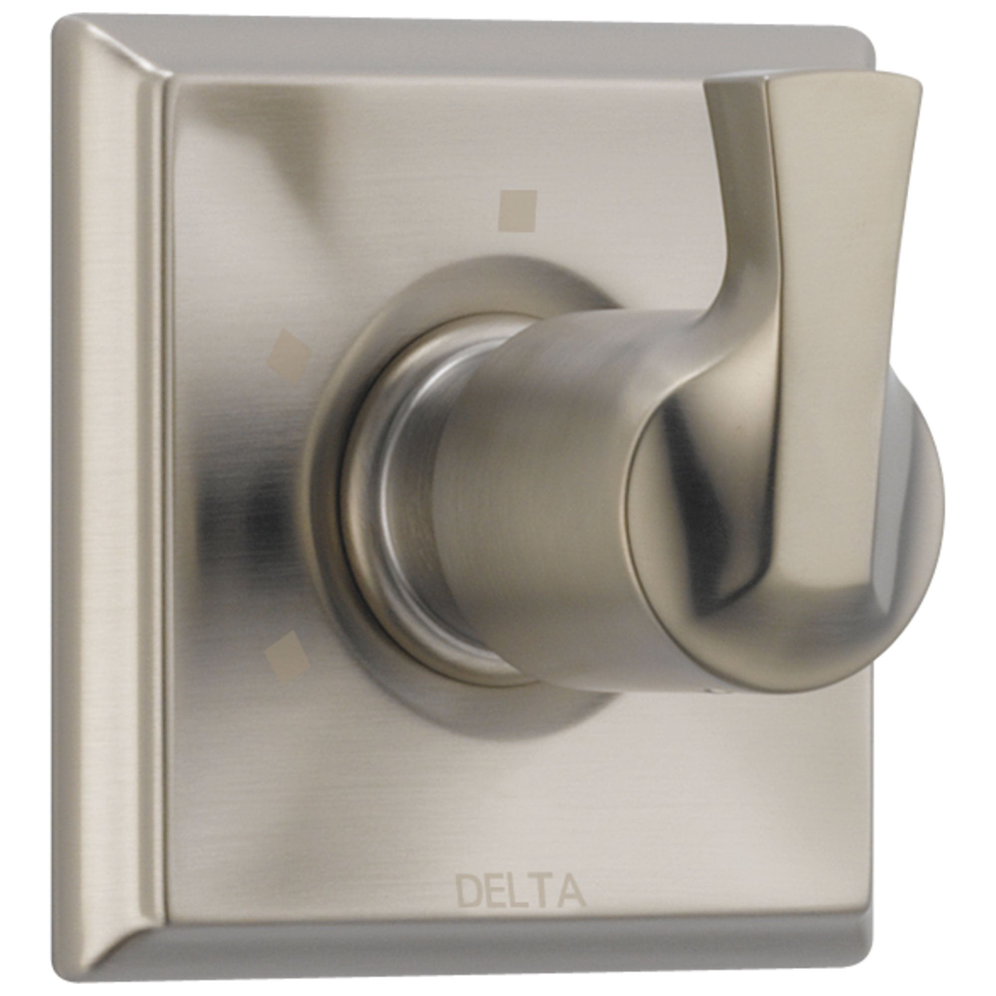 Delta Dryden Collection Stainless Steel Finish 3-Setting 2-Port Contemporary One Handle Shower System Diverter Trim (Valve Sold Separately) DT11851SP