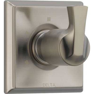 Delta 3-Setting Stainless Steel Finish 1-Handle Shower Diverter with Valve D182V