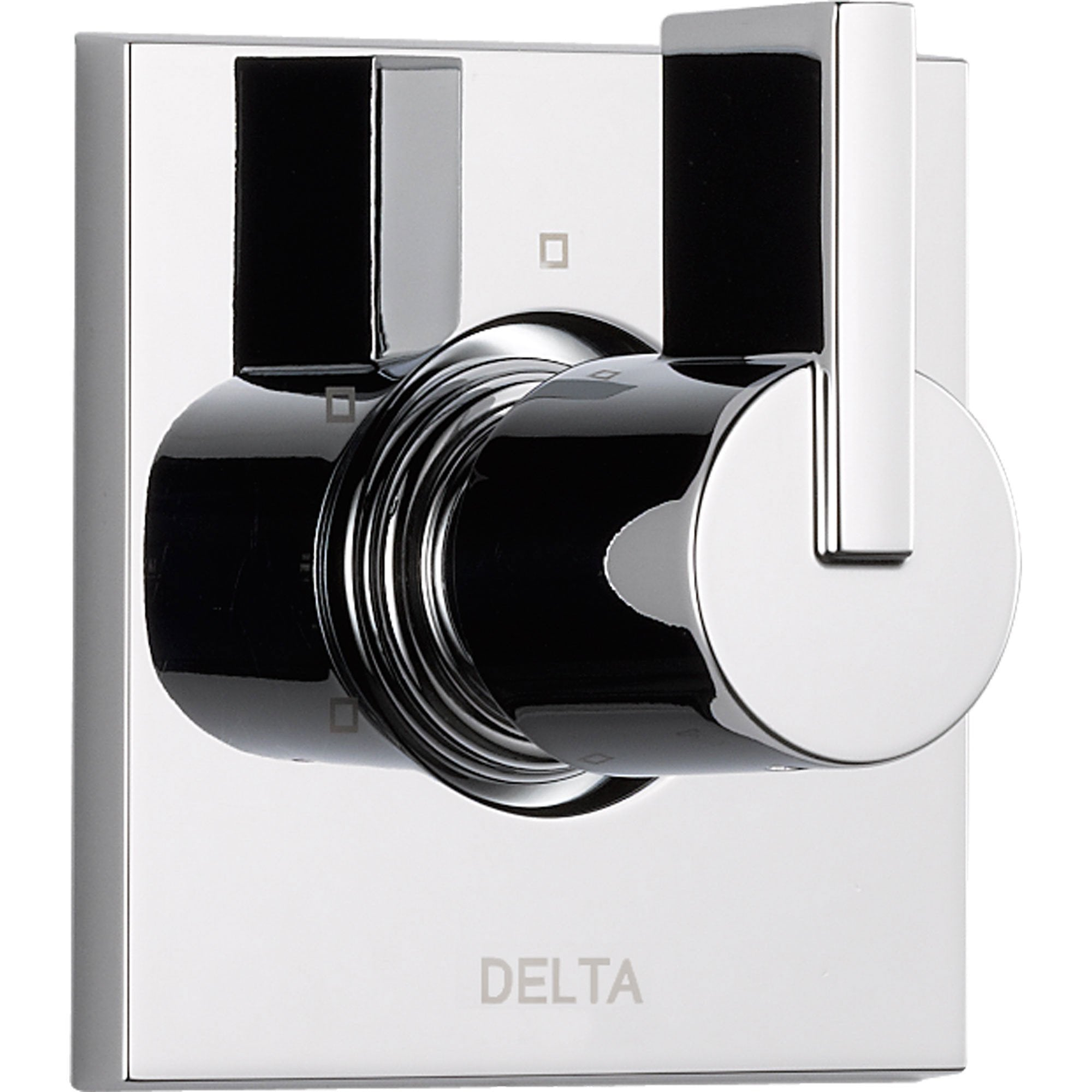 Delta Vero 3-Setting Chrome Single Handle Square Shower Diverter Trim Kit 521914