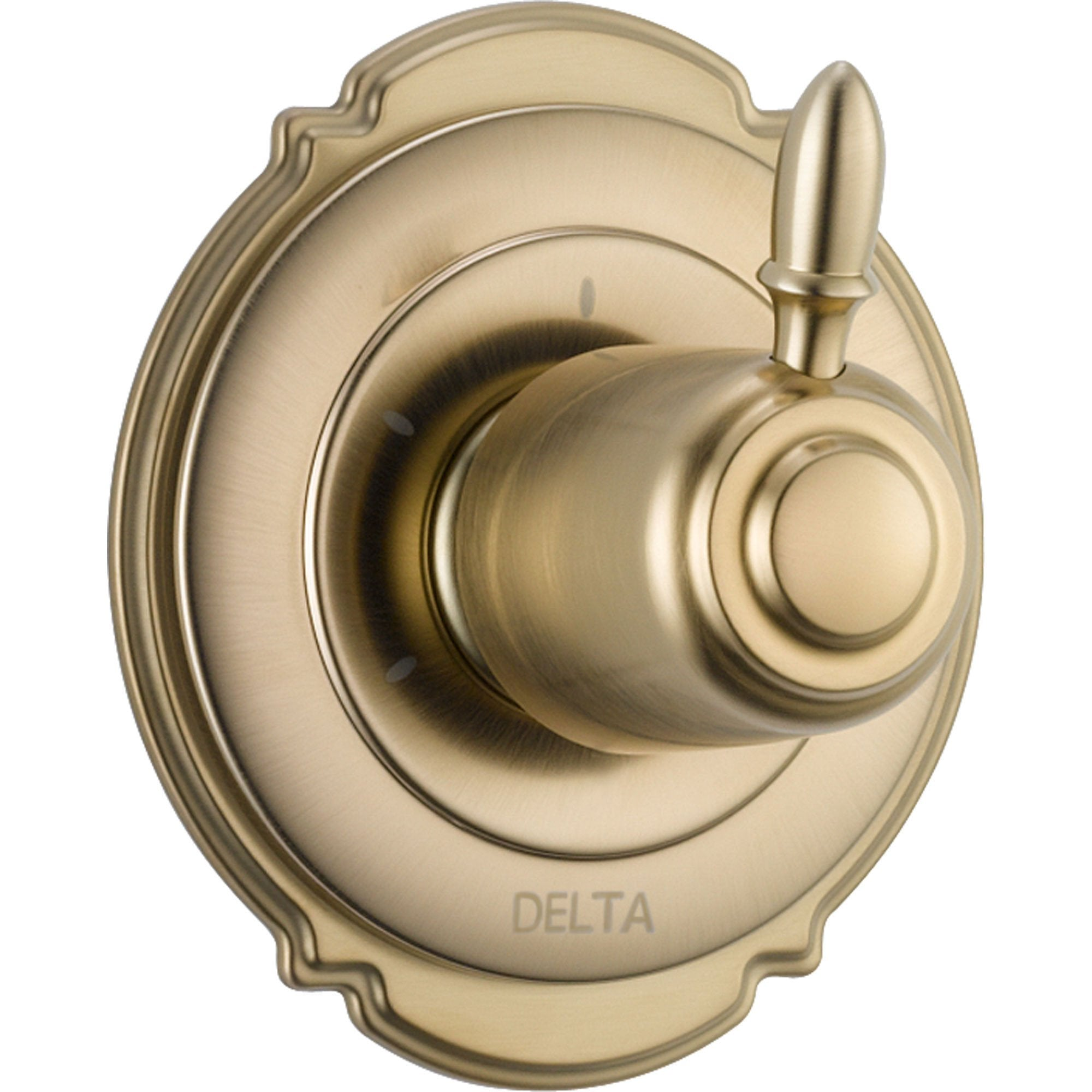 Delta Victorian 3-Setting Champagne Bronze Shower Diverter with Valve D188V