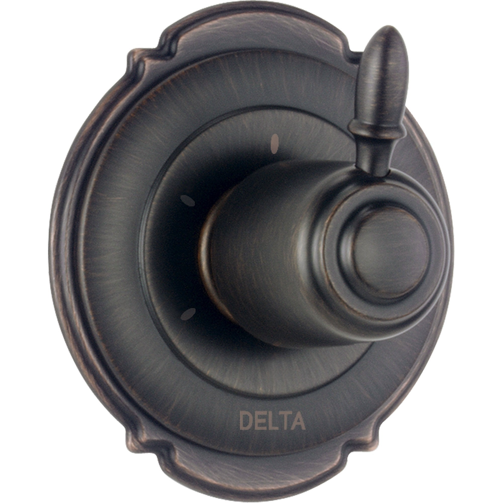Delta Victorian 3-Setting Venetian Bronze Shower Diverter, Includes Valve D189V