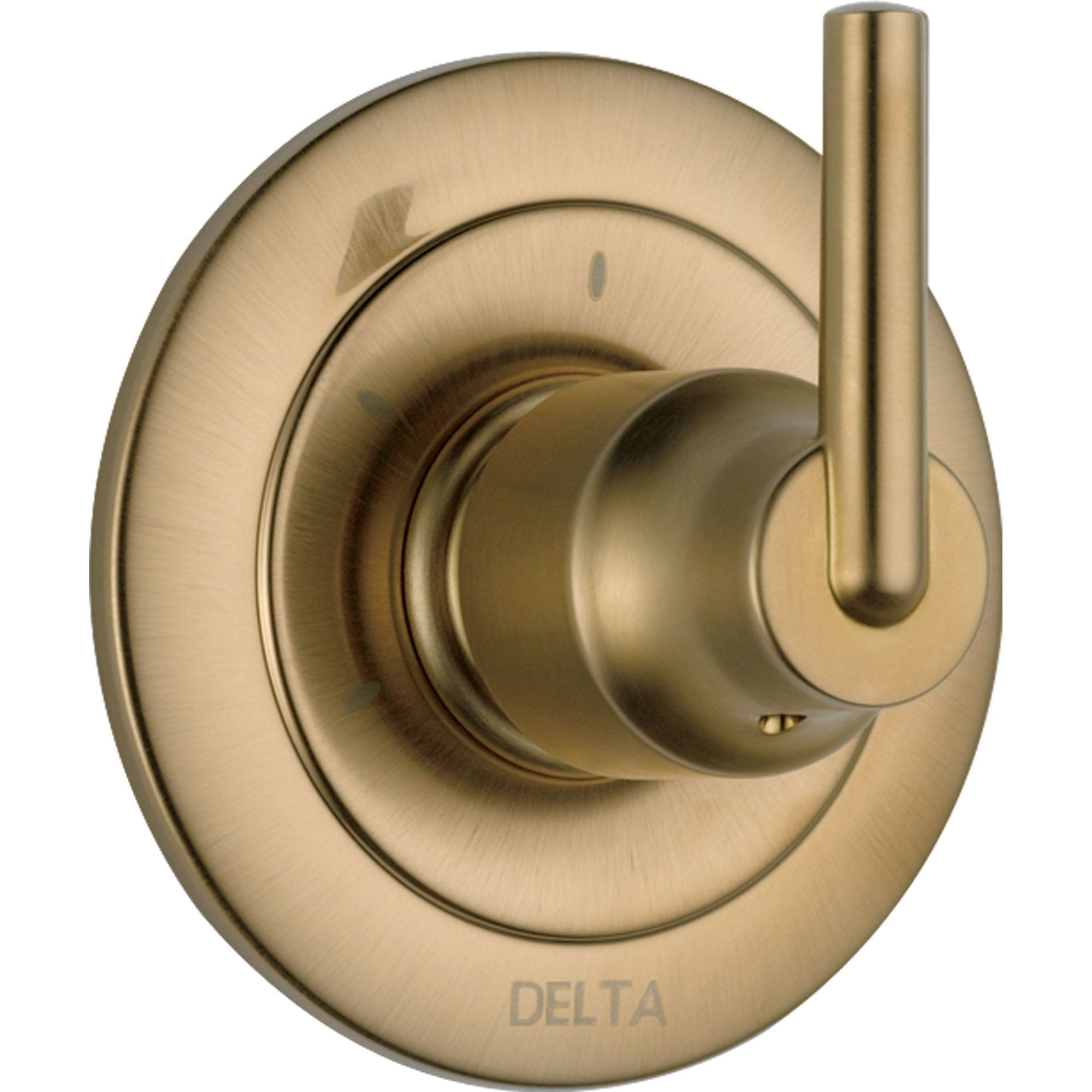 Delta Trinsic 3-Setting Modern Champagne Bronze Shower Diverter Trim Kit 590196