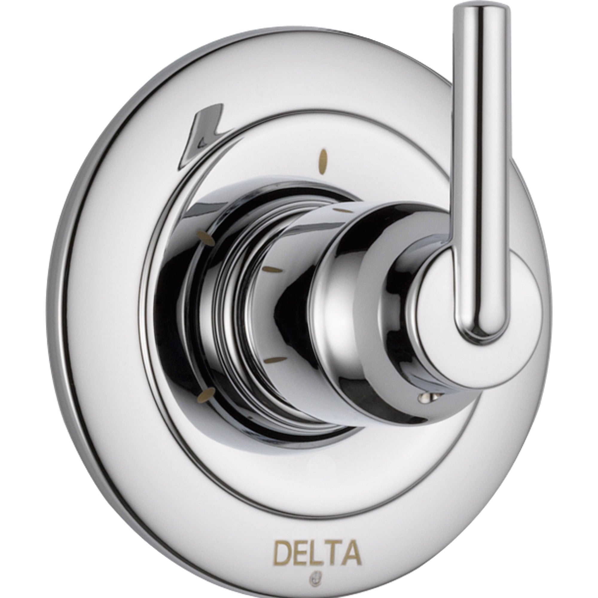 Delta Trinsic 3-Setting Modern Chrome 1-Handle Shower Diverter Trim Kit 590197