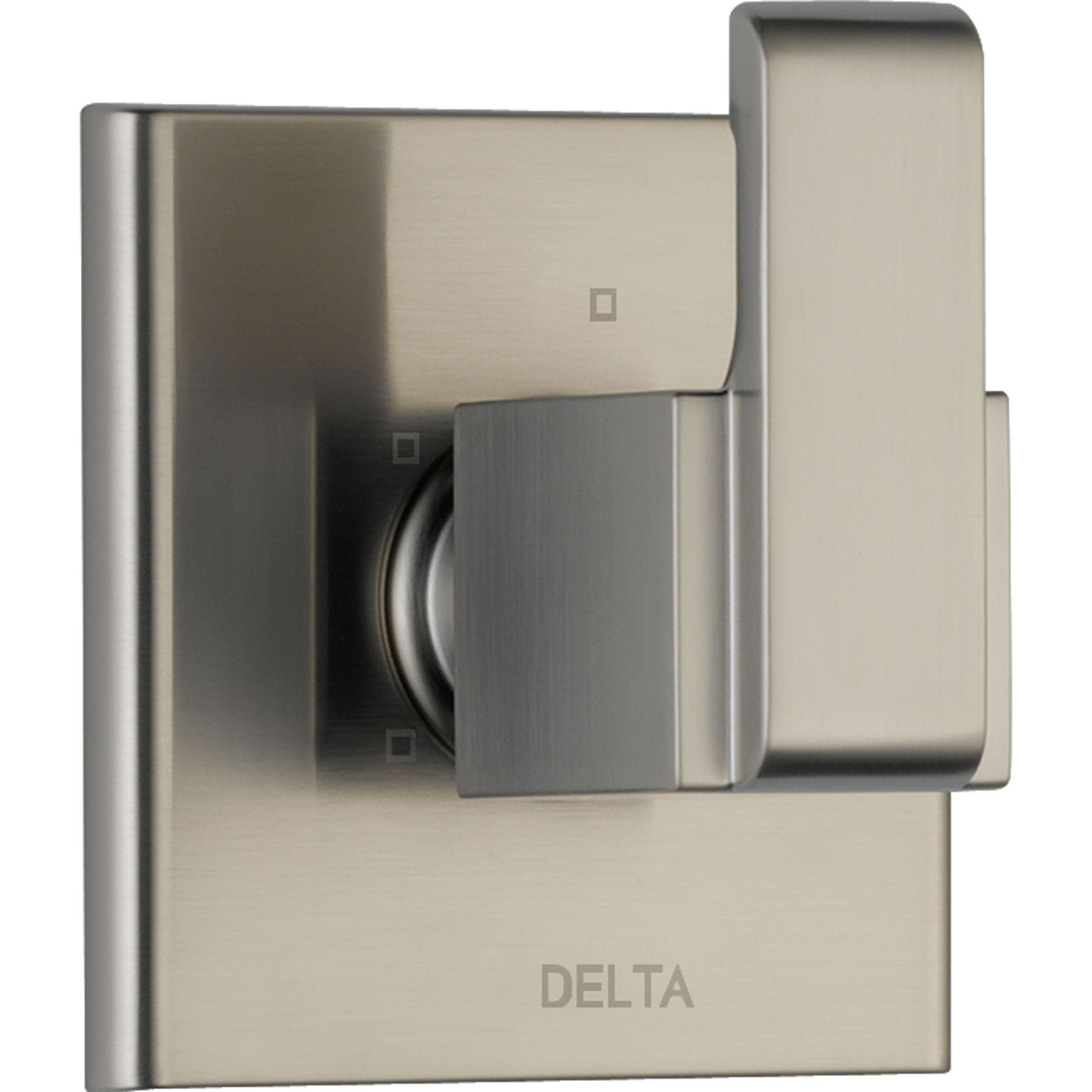 Delta Arzo Modern 3-Setting Stainless Steel Shower Diverter Trim w/ Valve D198V