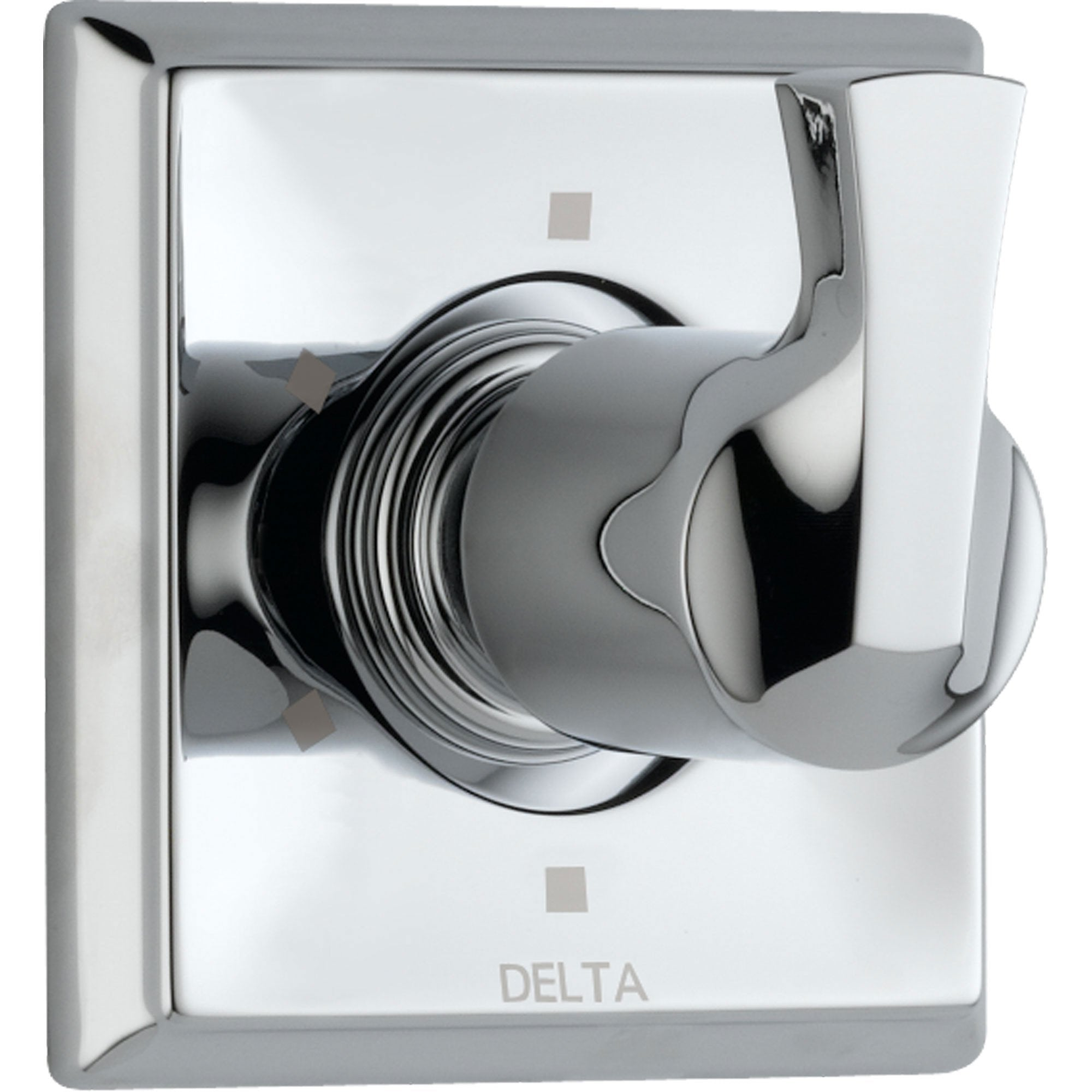 Delta Dryden Chrome Finish 6 Setting 3-Port Shower Diverter Fixture with Single Lever Handle INCLUDES Rough-in Valve D1326V