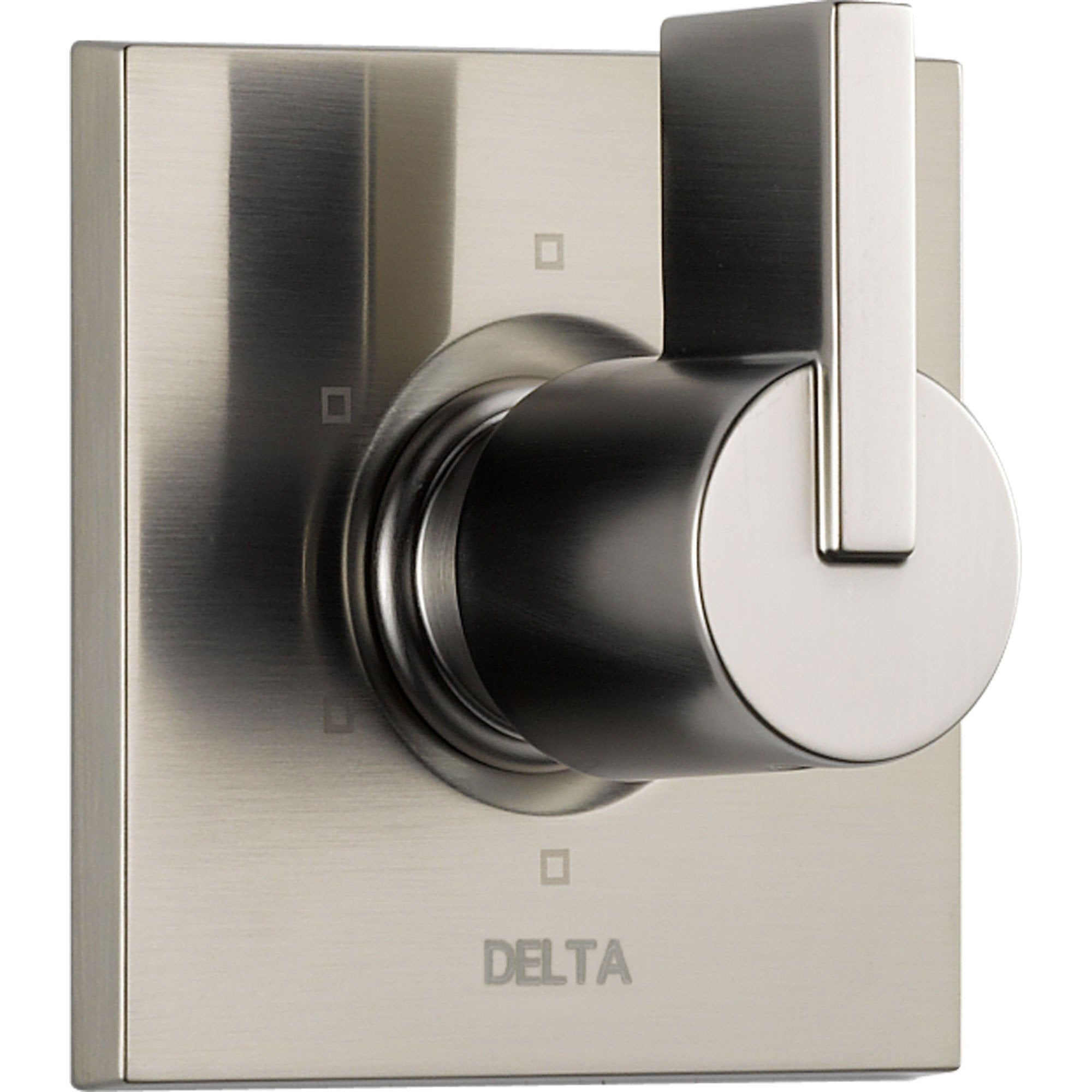 Delta Vero 6-Setting Stainless Steel Finish 1-Handle Shower Diverter Trim 521918