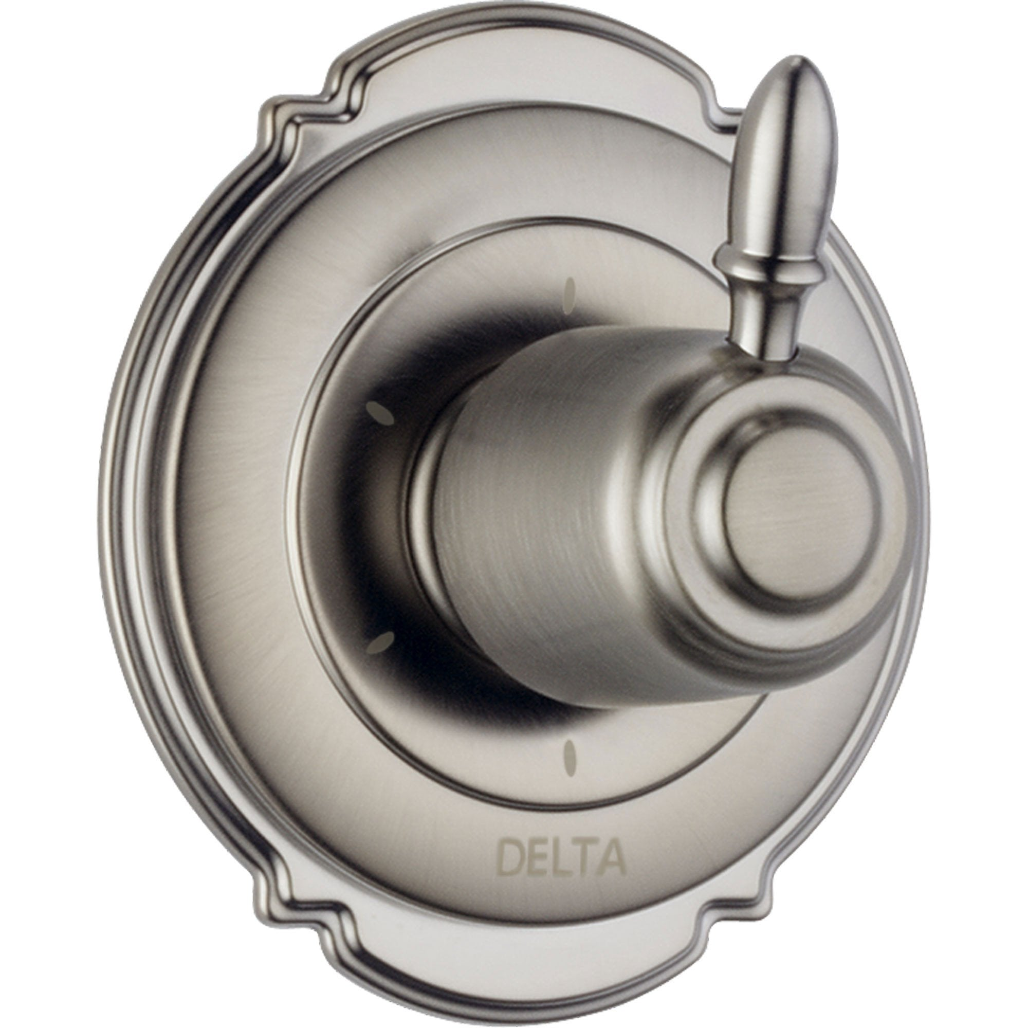 Delta Victorian 6-Setting Stainless Steel Finish Shower Diverter w/ Valve D158V