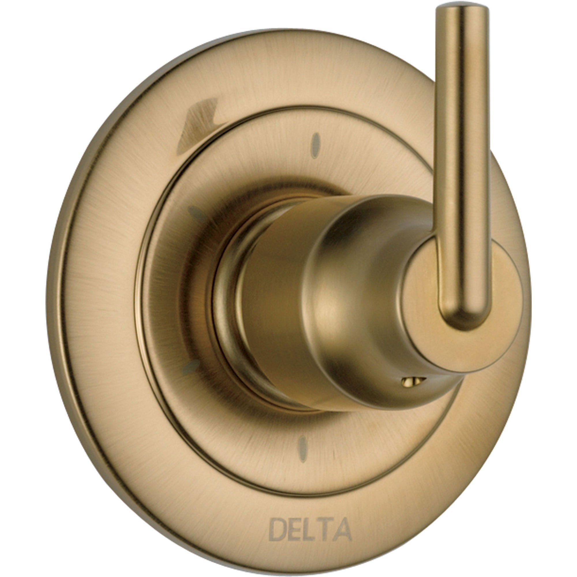 Delta Trinsic 6-Setting Champagne Bronze Shower Diverter Includes Valve D160V