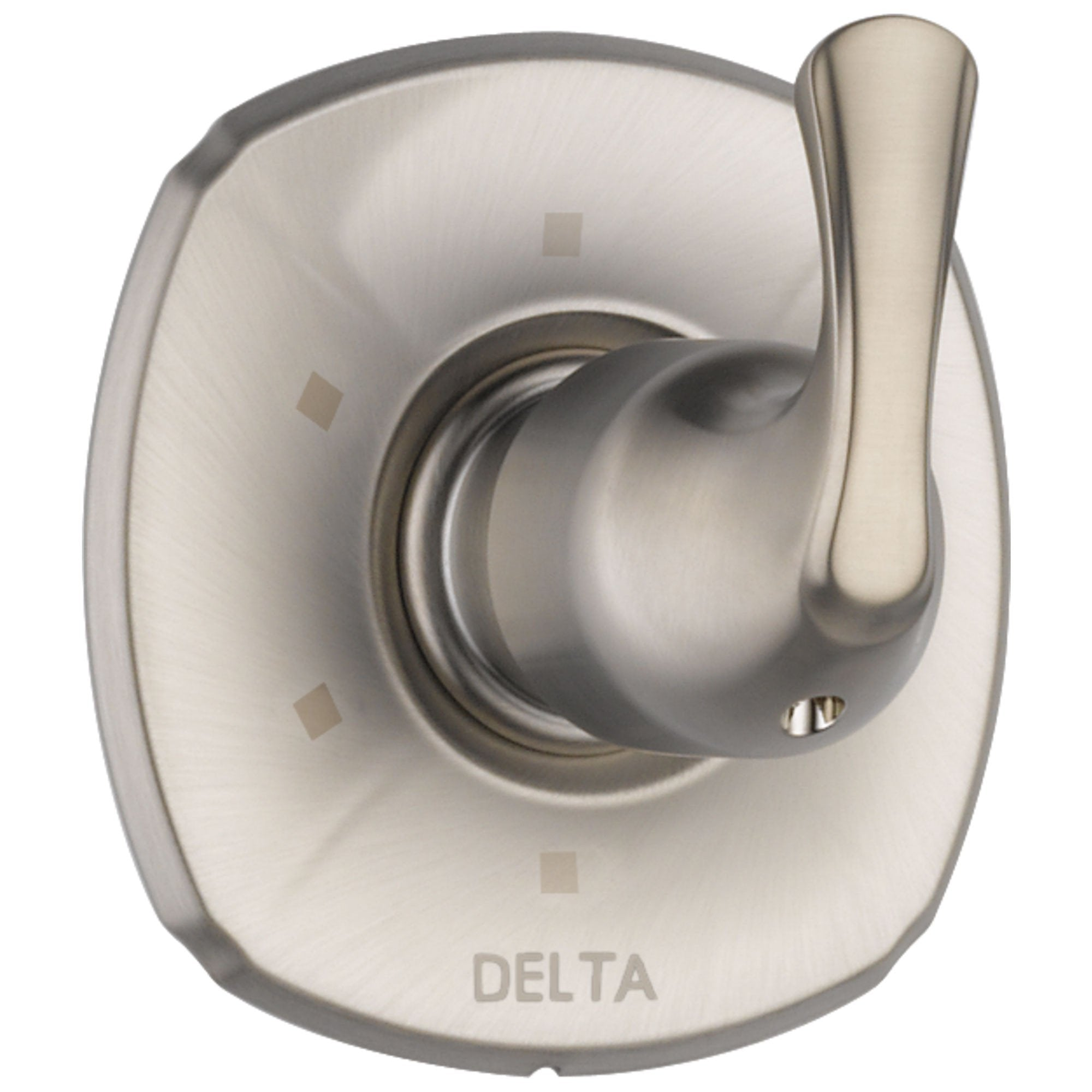 Delta Addison Collection Stainless Steel Finish 6-Setting 3-Port Shower Single Lever Handle Diverter Trim Kit (Requires Rough Valve) DT11992SS