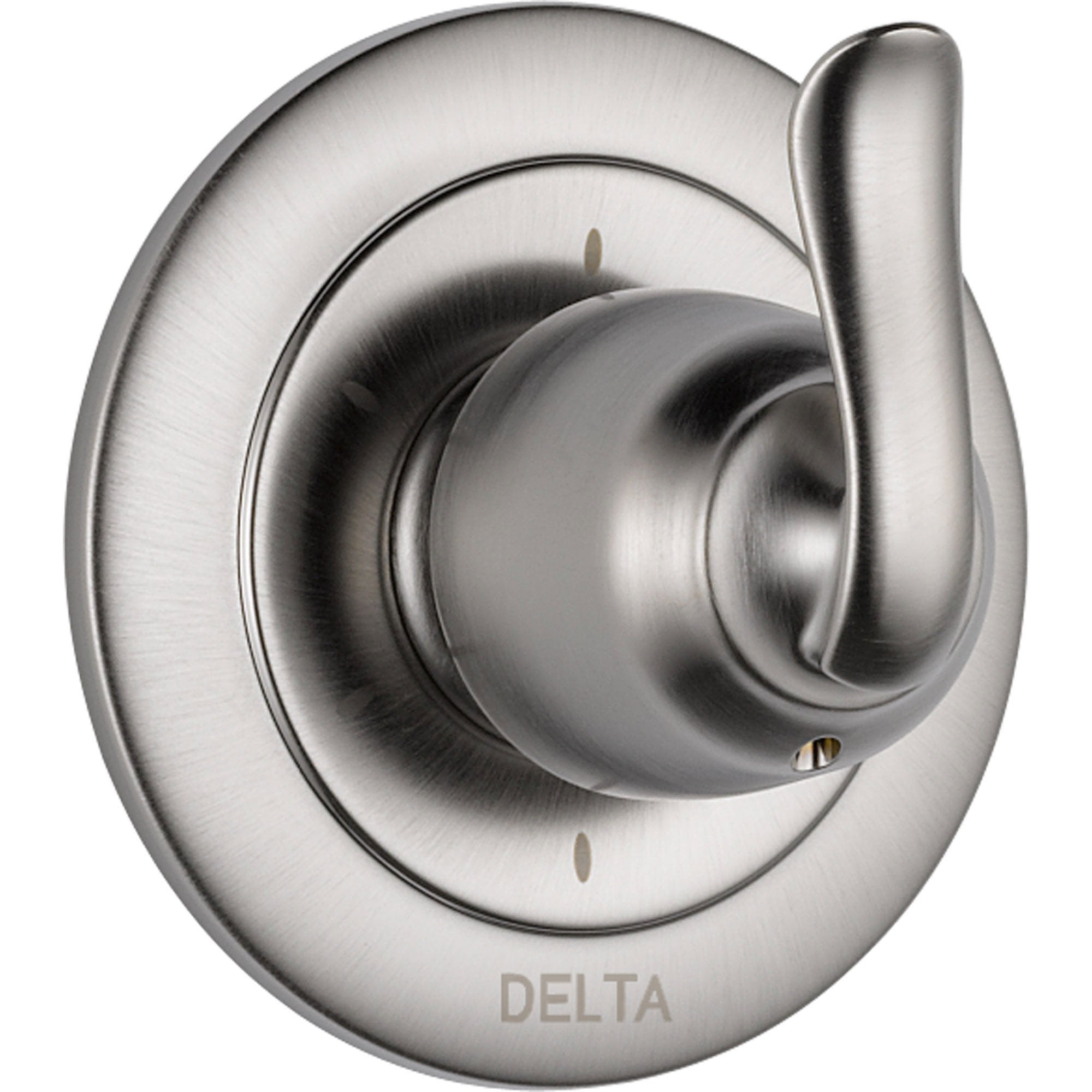 Delta Linden 6-Setting Stainless Steel Finish Shower Diverter Trim Kit 555688