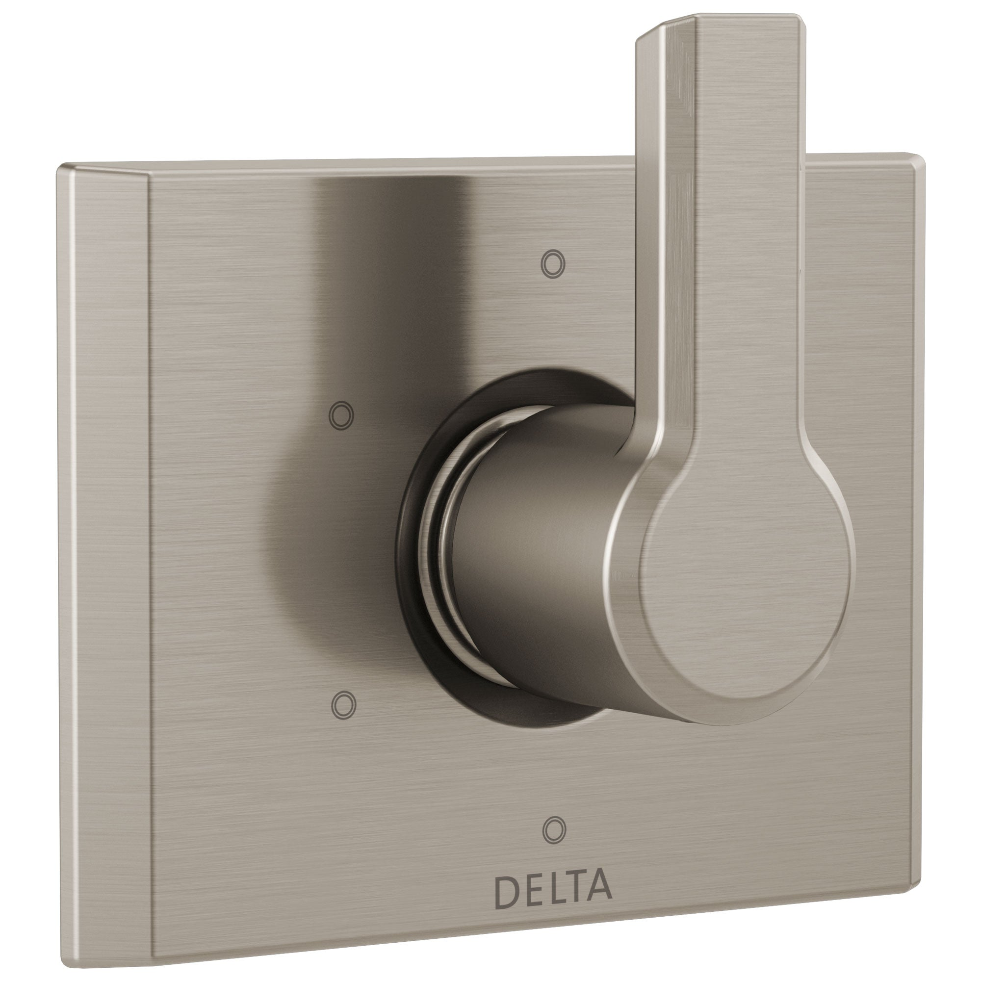 Delta Pivotal Stainless Steel Finish 6-Setting 3-Port Shower Diverter Trim Kit (Requires Valve) DT11999SS