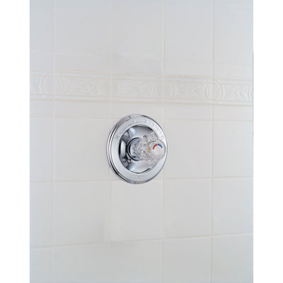 Delta Classic Chrome Single Knob Pressure Balanced Shower Control Trim 778477