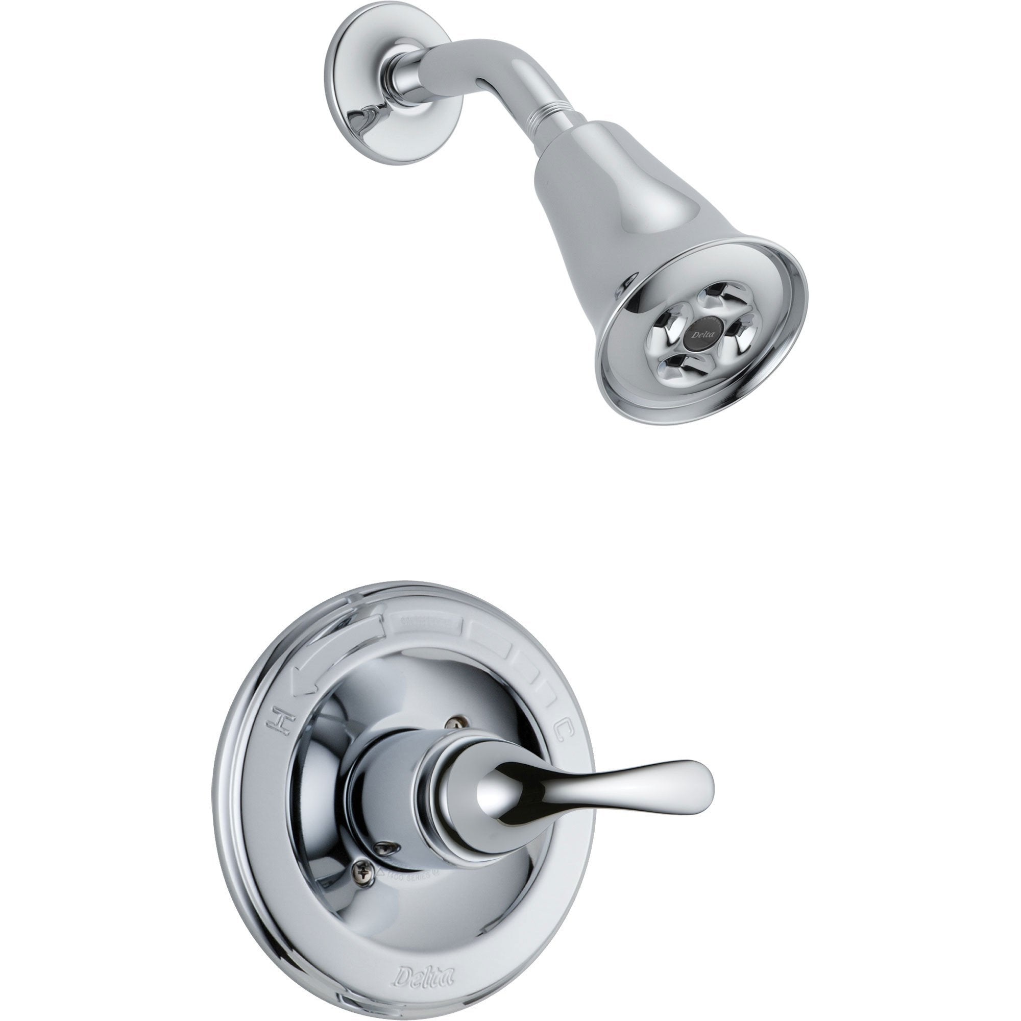 Delta Classic Chrome Single Handle Shower Only Faucet Includes Valve D615V