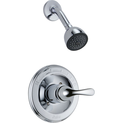 Delta Classic Chrome Single Handle Shower Only Faucet Includes Valve D614V