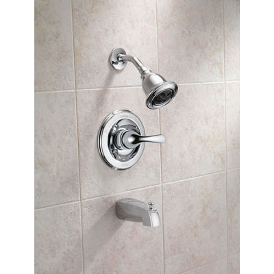 Delta Classic 1-Handle Chrome Finish Shower and Tub Faucet w/ Valve D233V