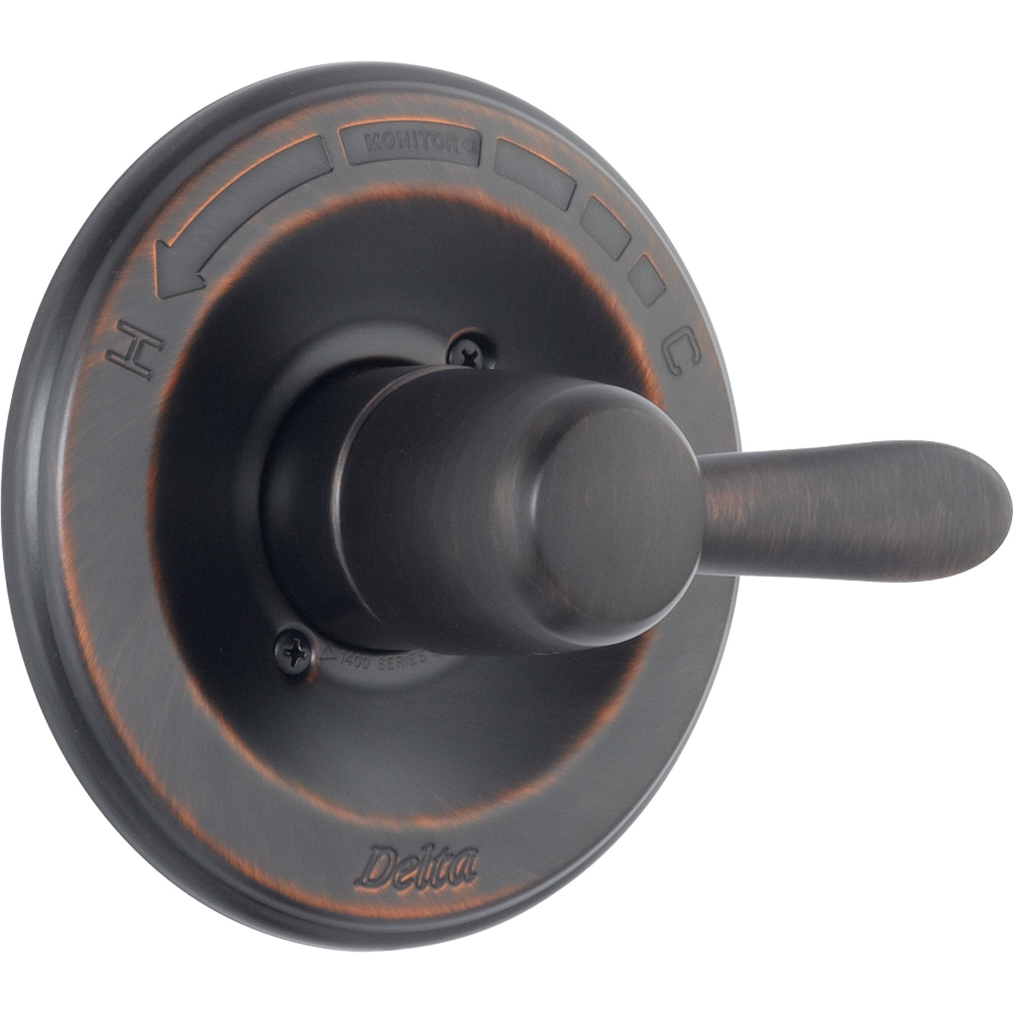 Delta Lahara Venetian Bronze Single Handle Shower Control, Includes Valve D010V