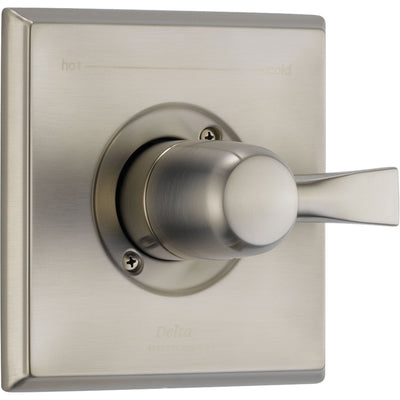 Delta Dryden Stainless Steel Finish Single Handle Shower Control w/ Valve D052V