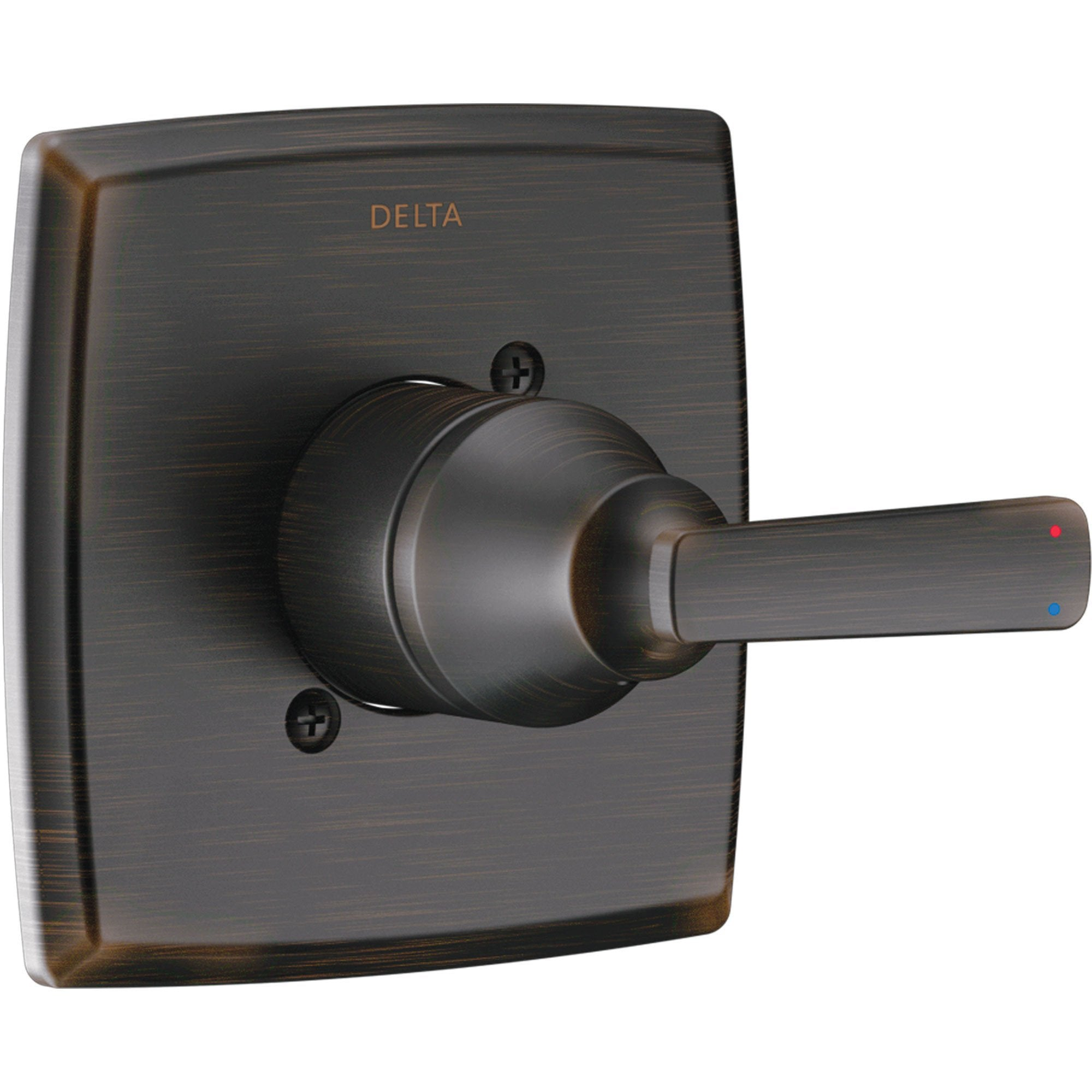 Delta Ashlyn 14 Series Modern Venetian Bronze Finish Single Handle Pressure Balanced Shower Faucet Control INCLUDES Rough-in Valve with Stops D1259V
