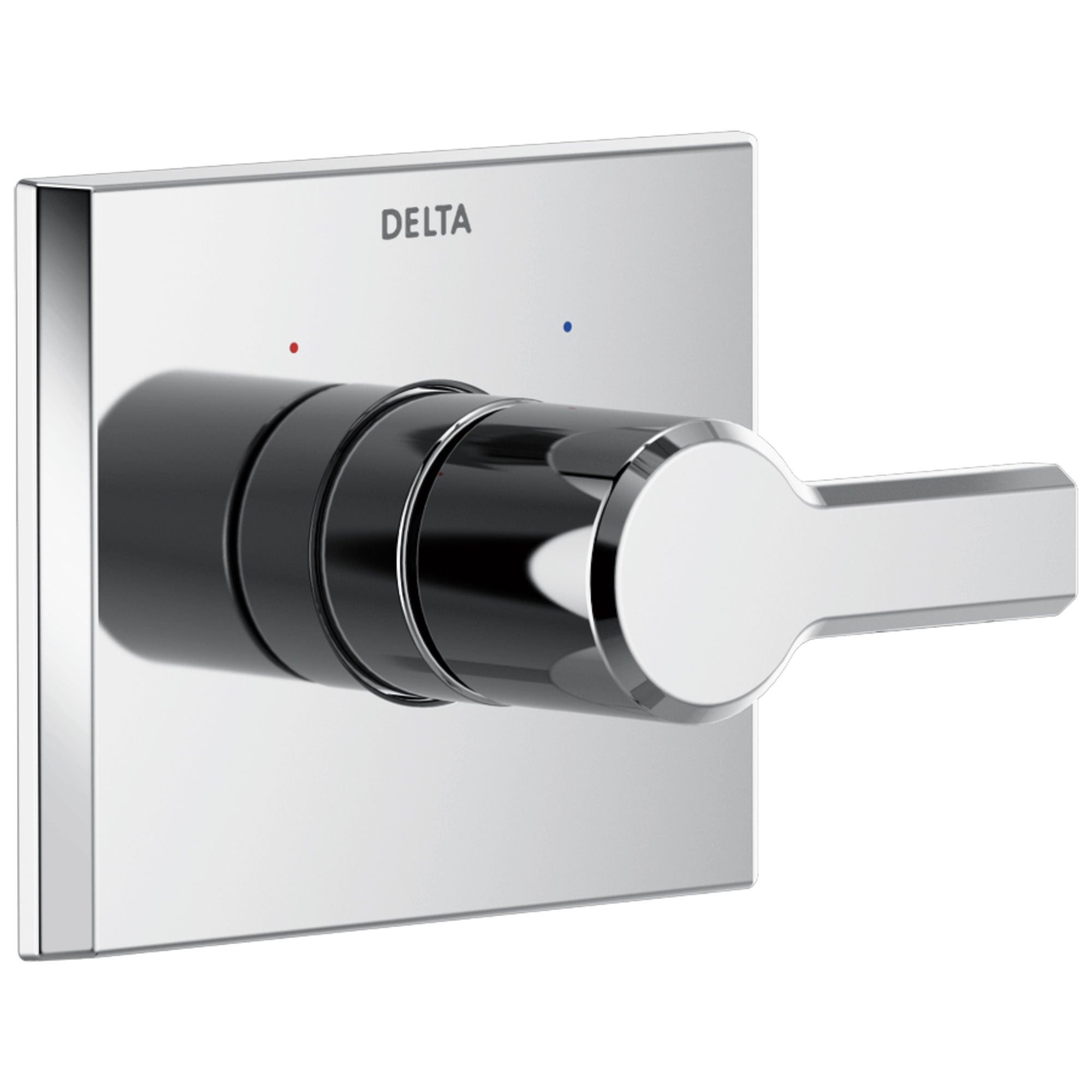 Delta Pivotal Chrome Finish Monitor 14 Series Single Handle Shower Faucet Control Only Includes Cartridge and Valve with Stops D3532V