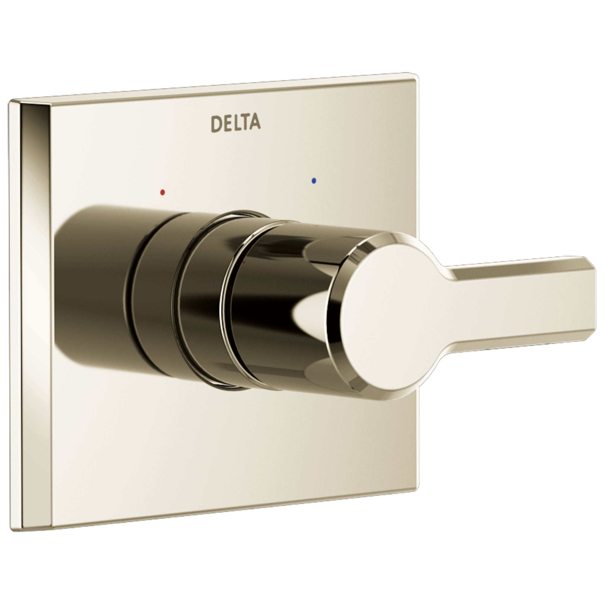 Delta Pivotal Polished Nickel Finish Monitor 14 Series Single Handle Shower Faucet Control Only Includes Cartridge and Valve with Stops D3528V