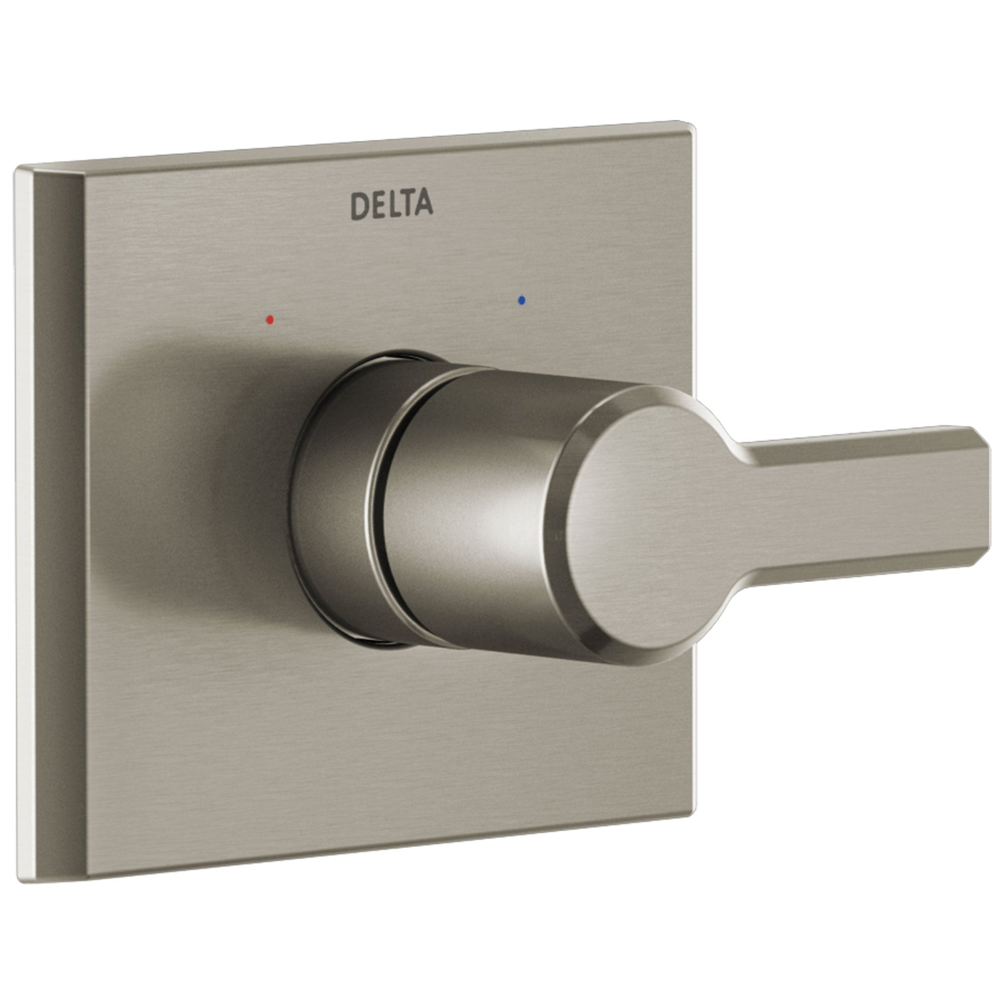 Delta Pivotal Stainless Steel Finish Monitor 14 Series Single Handle Shower Faucet Control Only Includes Cartridge and Valve with Stops D3526V