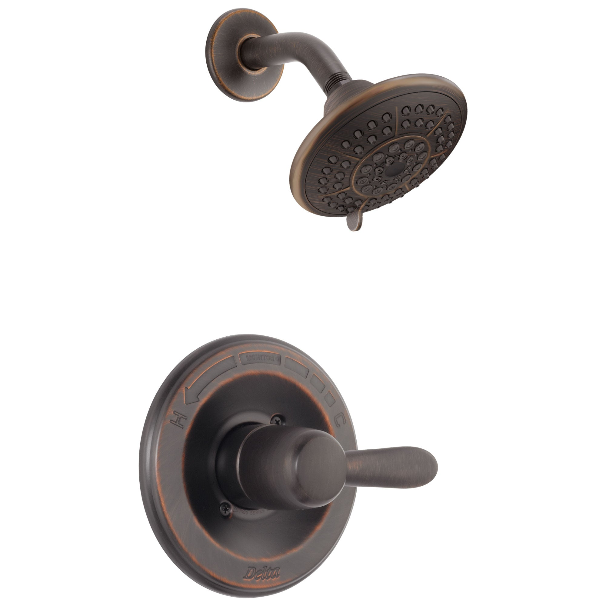 Delta Lahara Single Handle Venetian Bronze Shower Only Faucet Trim Kit 338169