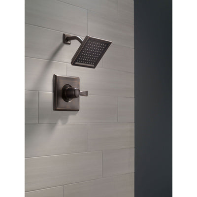 Delta Dryden Venetian Bronze Large Modern Square Shower Only Faucet Trim 456053