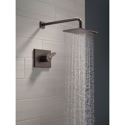 Delta Vero Venetian Bronze Large Modern Square Shower Only Faucet Trim 555943