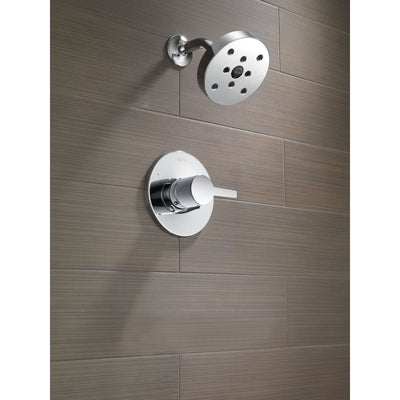Delta Compel Chrome Single Handle Modern Shower Only Faucet Includes Valve D647V