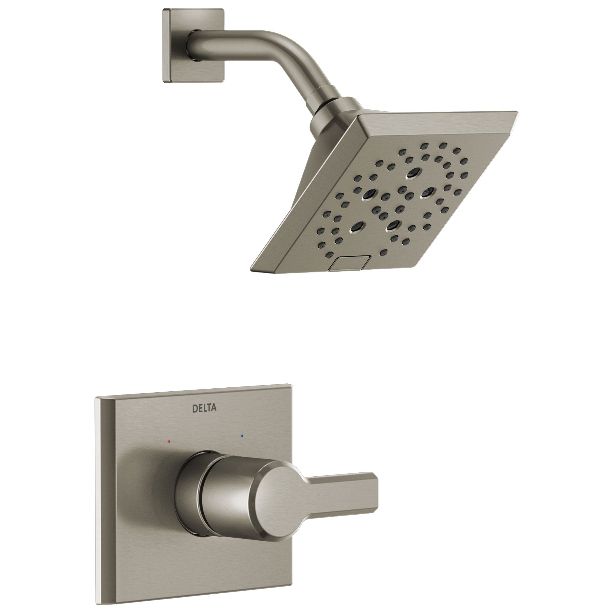Delta Pivotal Stainless Steel Finish Monitor 14 Series H2Okinetic Shower only Faucet Trim Kit (Requires Valve) DT14299SS