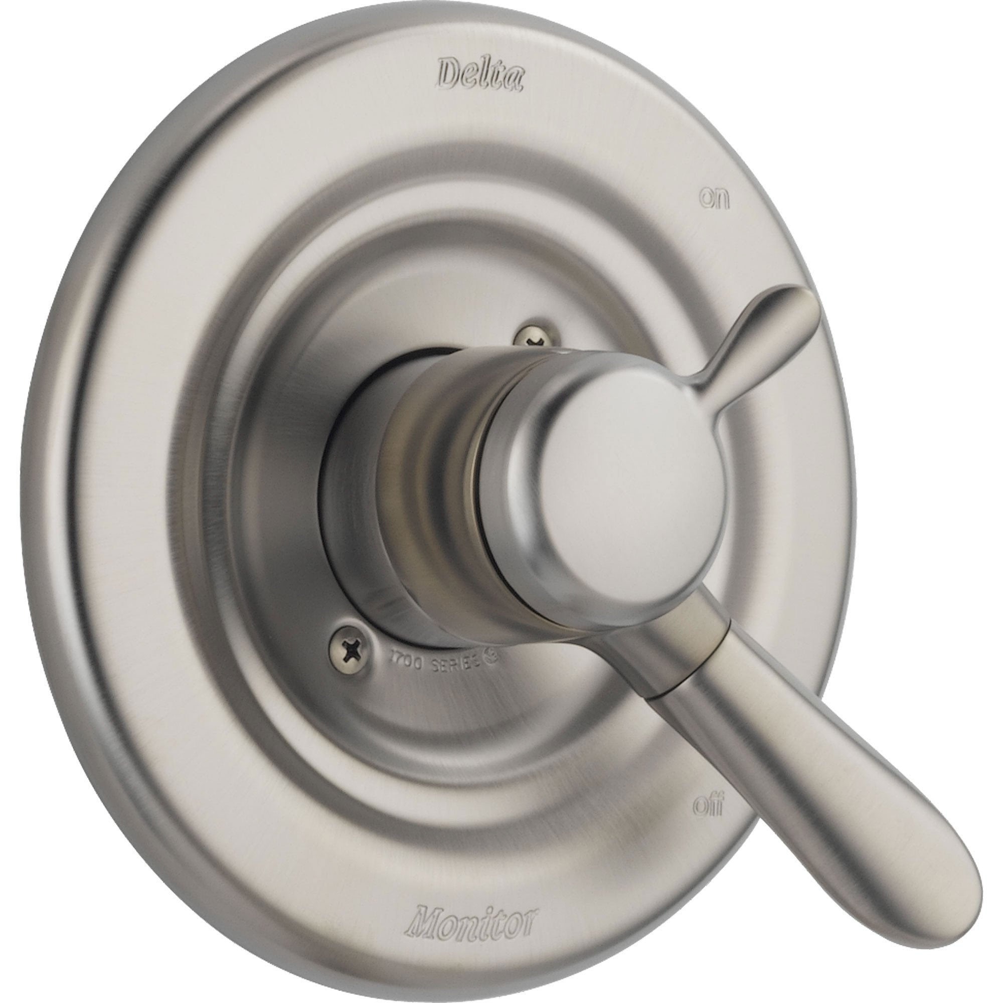 Delta Temperature & Volume Control Stainless Steel Finish Shower w/ Valve D115V