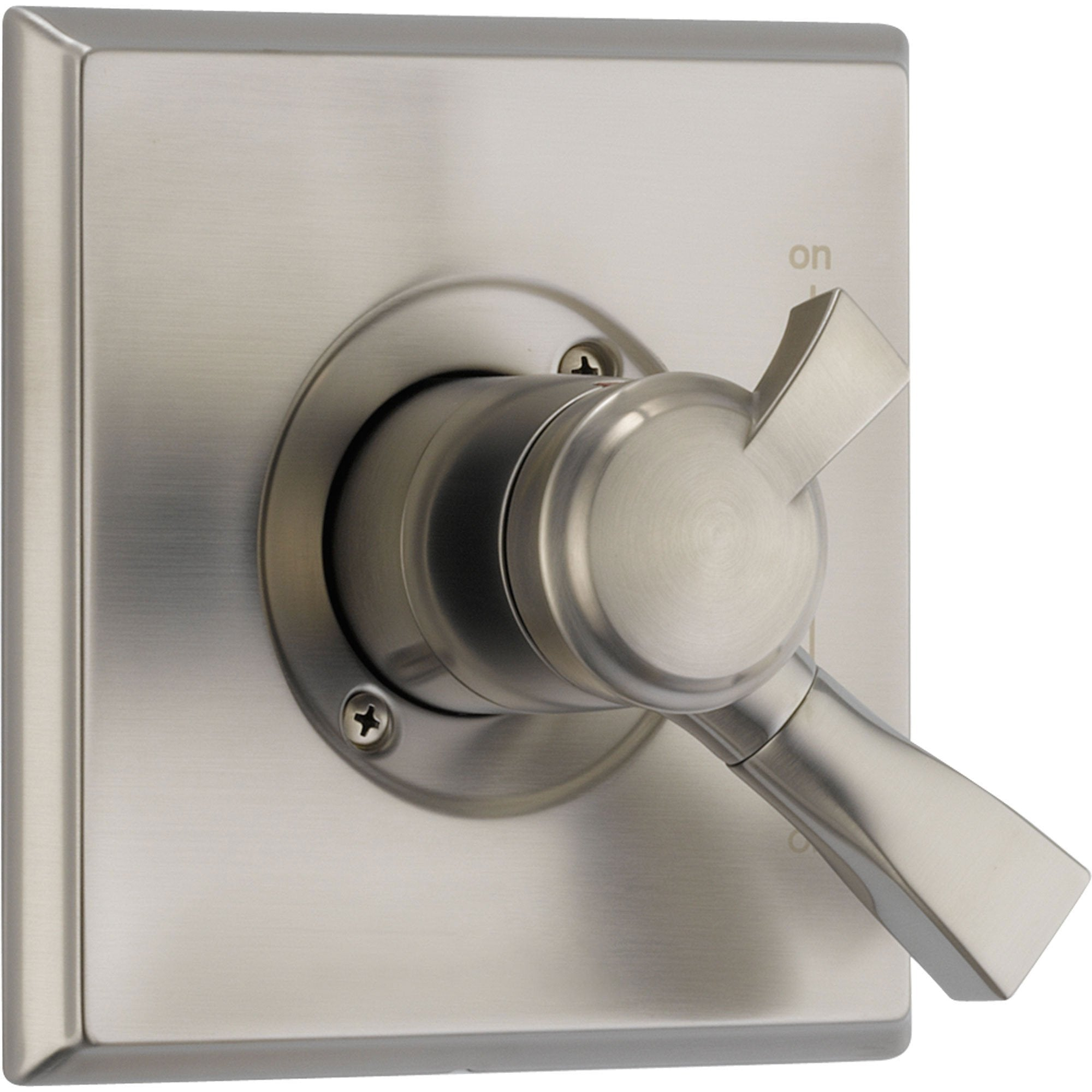 Delta Temperature and Volume Control Stainless Steel Finish Shower w/Valve D119V