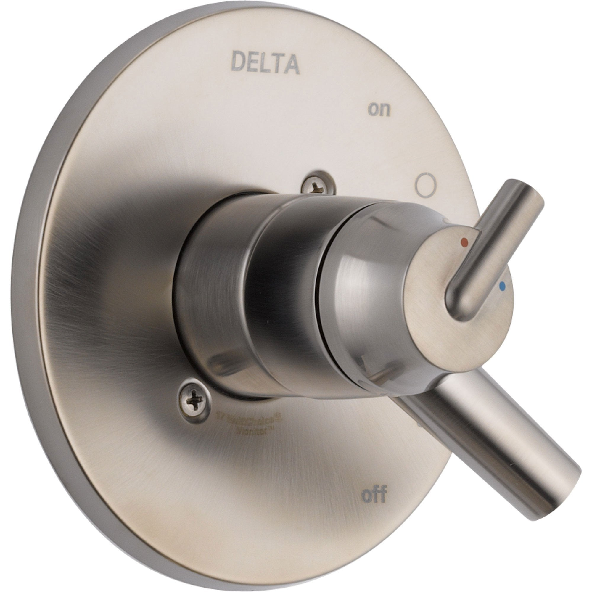 Delta Trinsic Two Handle Stainless Steel Finish Shower Control with Valve D127V