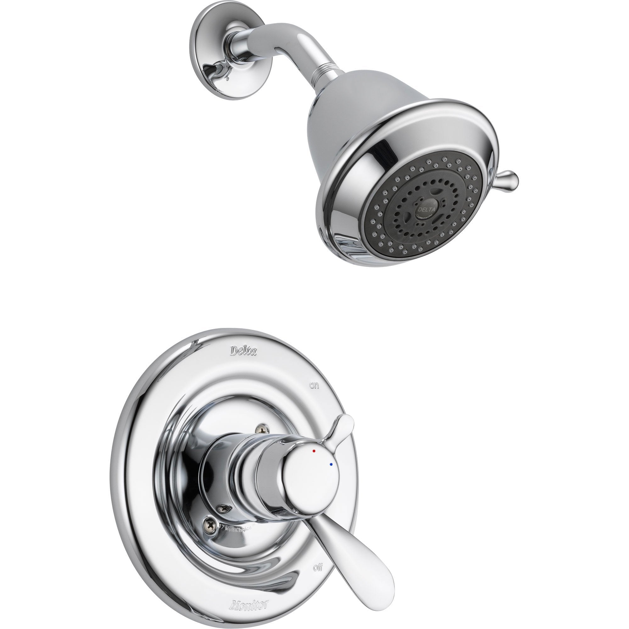 Delta Innovations Chrome Temp / Volume Control Shower Faucet with Valve D669V