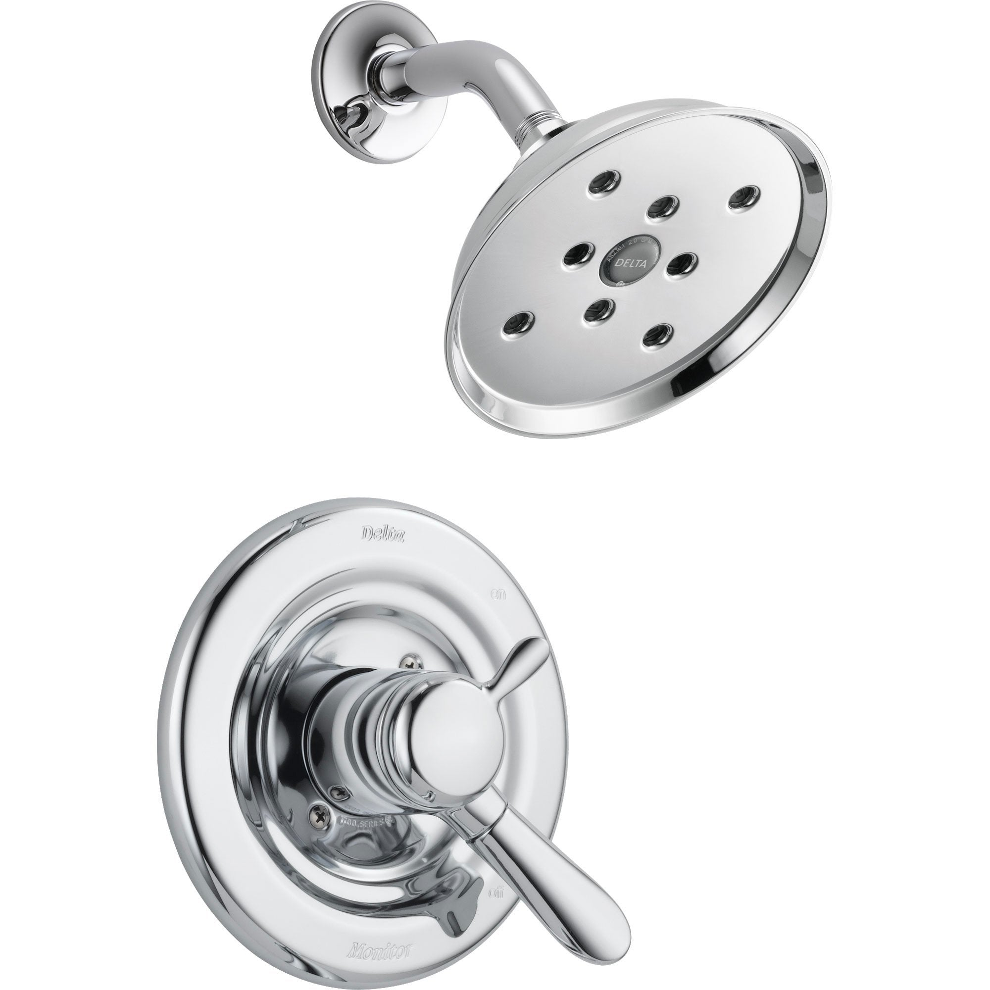Delta Lahara Chrome Temperature & Volume Control Shower Faucet with Valve D675V