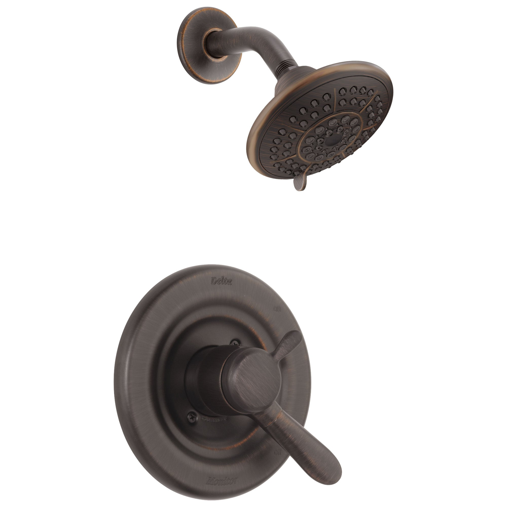 Delta Lahara Venetian Bronze Temp/Volume Control Shower Faucet Trim Kit 338257