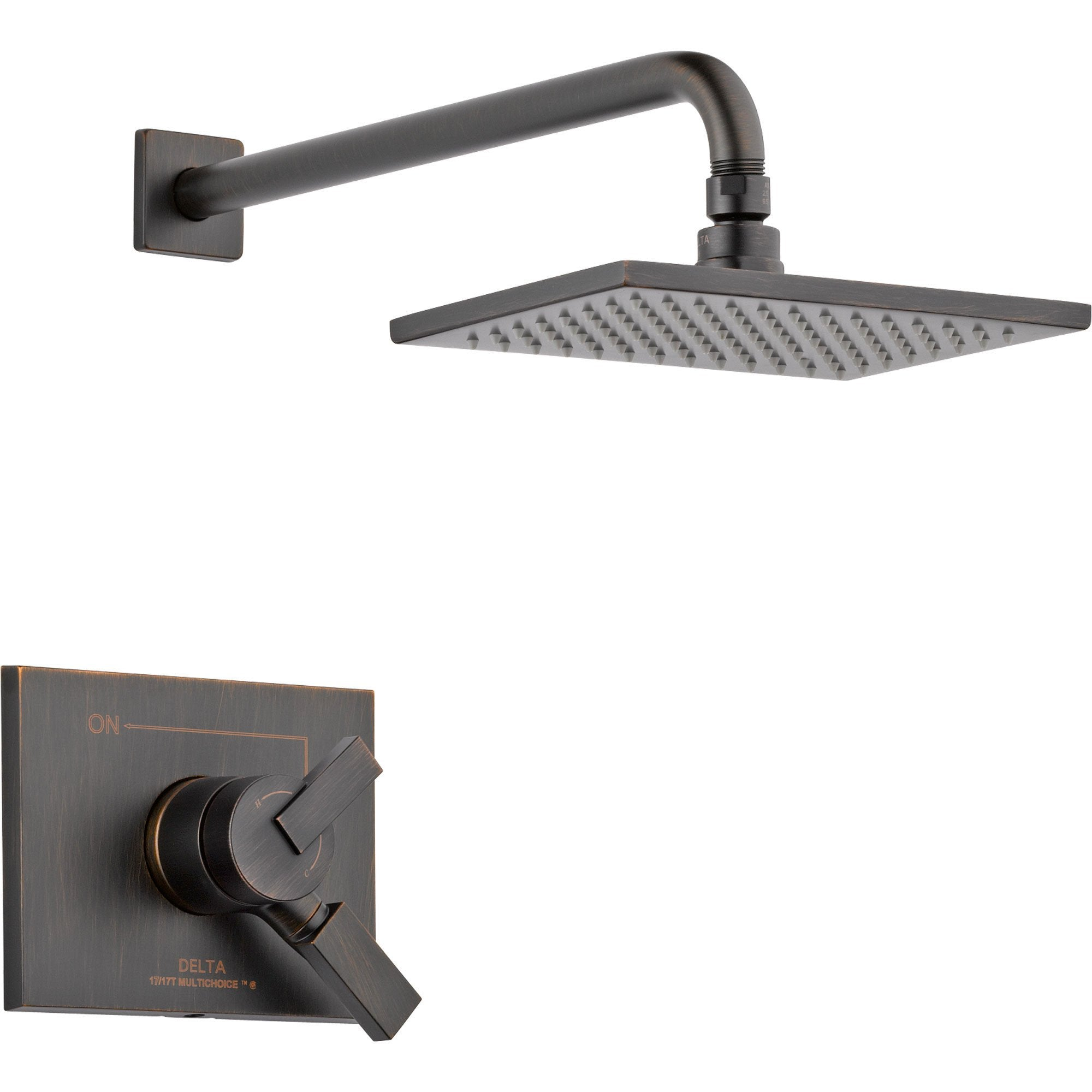 Delta Vero Venetian Bronze Temp/Volume Control Shower Faucet with Valve D755V