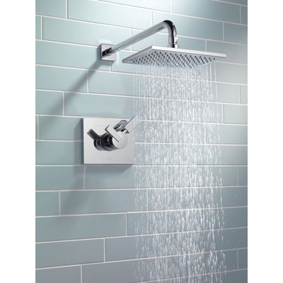 Delta Vero Modern Chrome Temp/Volume Control Shower Faucet with Valve D751V