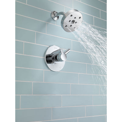 Delta Compel Dual Control Temp/Volume Chrome Shower Faucet Trim Kit 584042