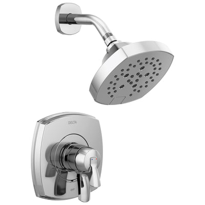 Delta Stryke Chrome Finish 17 Series Shower Only Faucet Trim Kit (Requires Valve) DT17276