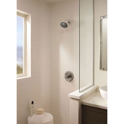 Delta Leland 2 Handle Temp/Volume Stainless Steel Finish Shower Trim 460680