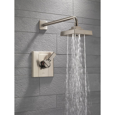 Delta Arzo Modern Temp/Volume Stainless Steel Finish Shower Faucet Trim 550115